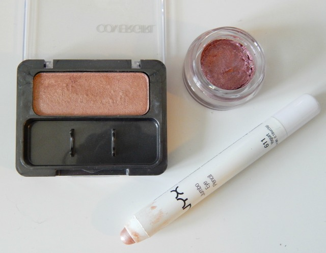Three Blushing Pink Eyeshadows for Valentine's Day with Swatches