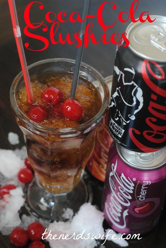 Coca-Colar Slushies
