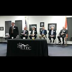 Sen. McNally, Rep. Ragan, Rep. Calfee, Rep. Kane, Sen. Yager and Sen. Briggs provide #ETEC members with a #Tennessee #GeneralAssembly update