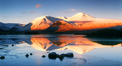 Blackmount Winter Reflection