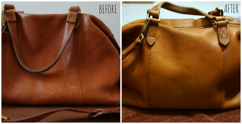 Leather Nova: Caring for my Madewell Kensington Satchel by popular North Carolina style blogger Rebecca Lately