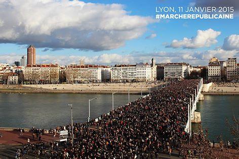 Lyon+#Marcherépublicaine+jj+janvier+2015