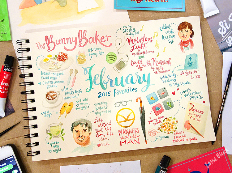 Lorra Elena's February 2015 Favorites