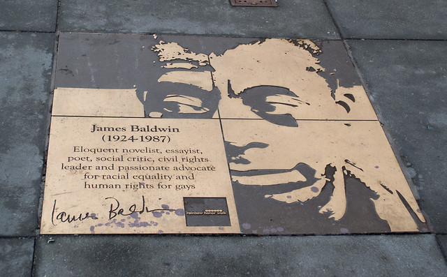 SF Castro James Baldwin plaque (1225)