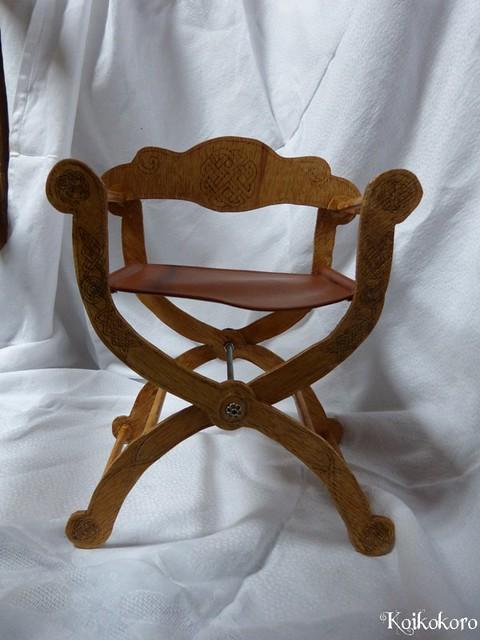 Les 3 Dames ~ meubles pour poupées : Fauteuil SD 16259865594_cc9977e64d_z