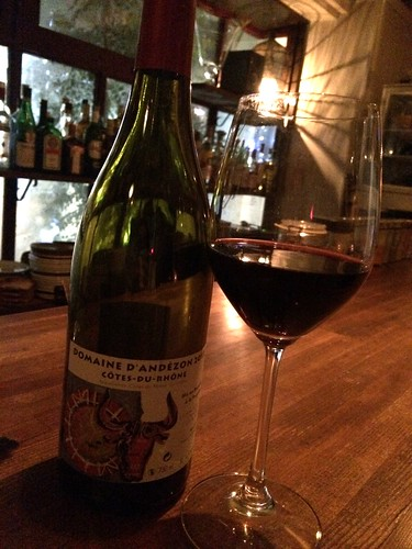 ワイン@bar bossa