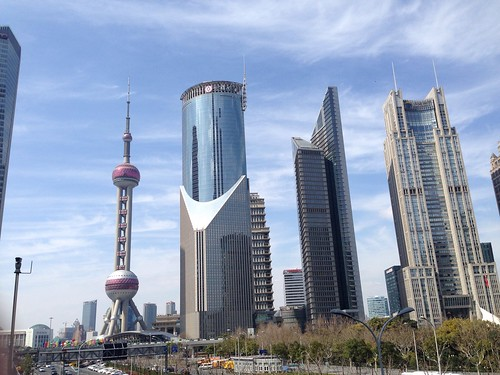 Pudong on a Nice Day