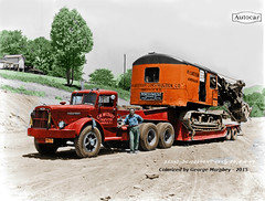 Colorized Trucks and Buses by George Murphey