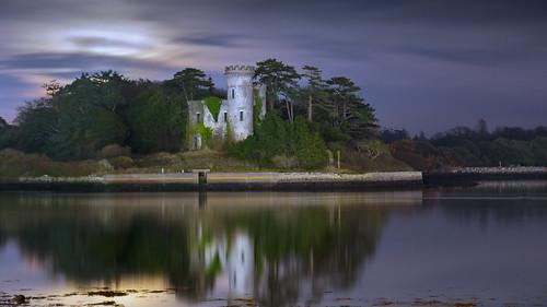 ireland moon castle night cork fota nikon80200f28 nikond700