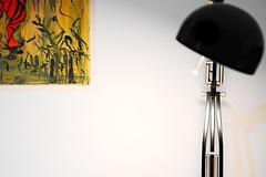 Lampe im Büro