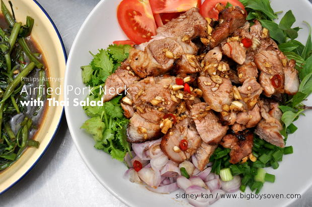 Philips Airfryer Pork Neck Thai Salad 1