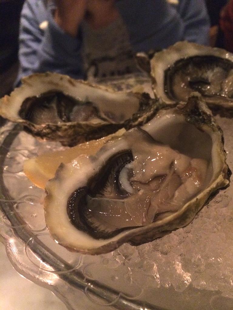 Plat du Jour - oysters