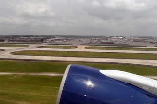 ATL AIRPORT FROM TAKE OFF 757 N693DL DELTA FLIGHT ATL-FLL