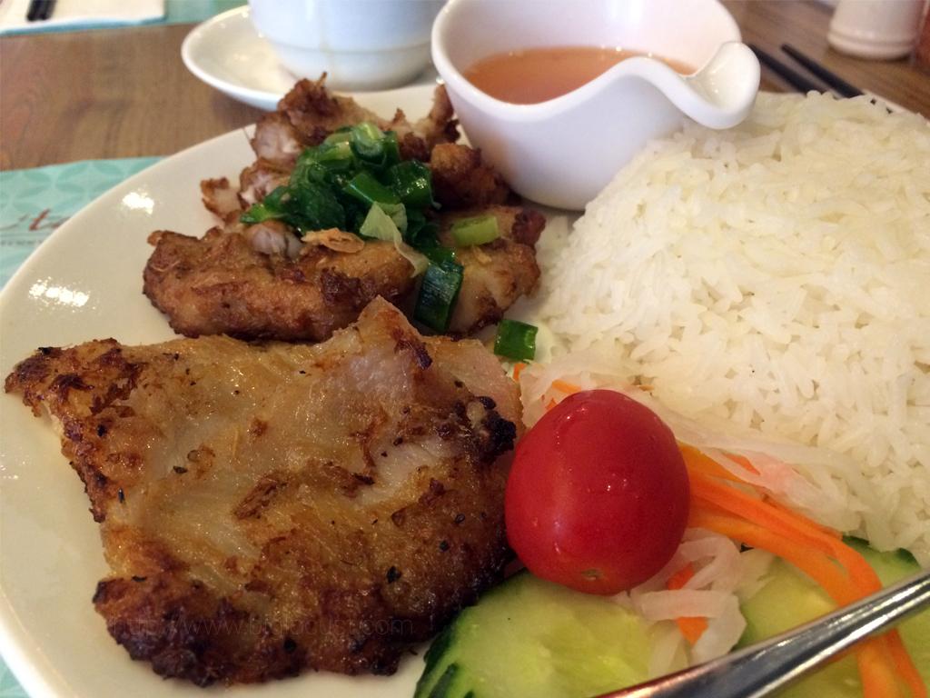 La'taste Vietnamese Cuisine - pork chop rice