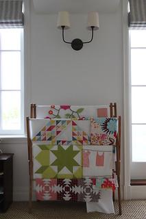 Studio quilt storage