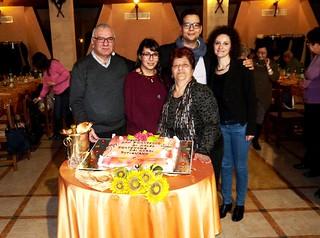 Pietro Carenza e la sua famiglia