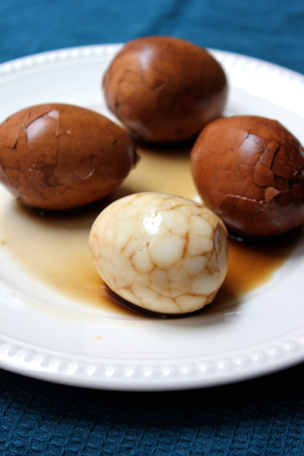 Marble Tea Eggs and Global Supper Club: Chinese New Year