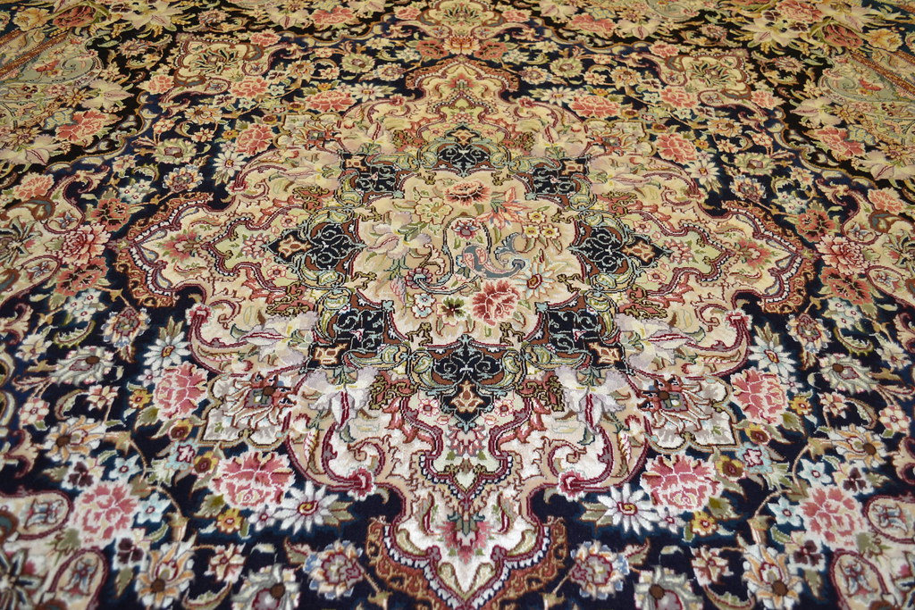 Salari Master Piece 7x7 Persian Area Rug Very detailed Tabriz Rug (5)