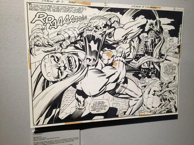 Exposition Jack Kirby Angoulême