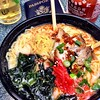 In #LAX but still channeling the #fareast with this #pork #ramen bowl. #foodporn #seaweed #noodle