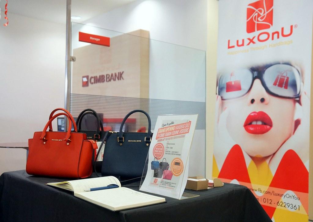 LuxOnU - Michael kors - Opening of CIMB Bank taman equine -001