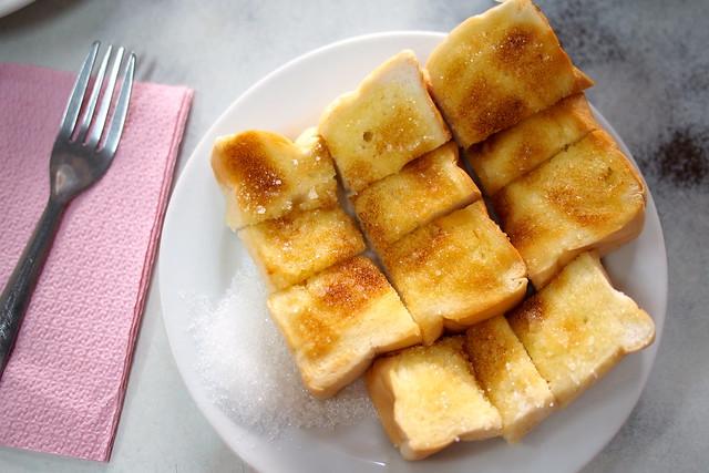 sugar on toast, On Lok Yun, 72 Charoen Krung Rd, Bangkok, Thailand