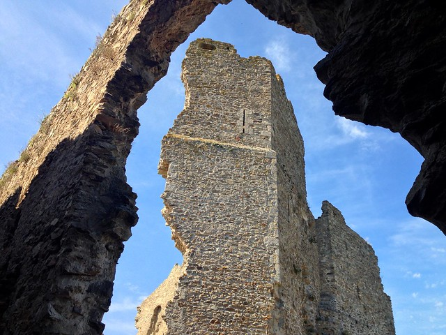 Ruins of Saissac