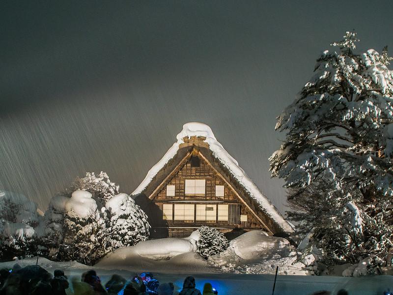 Shirakawa-Go Light Up Event