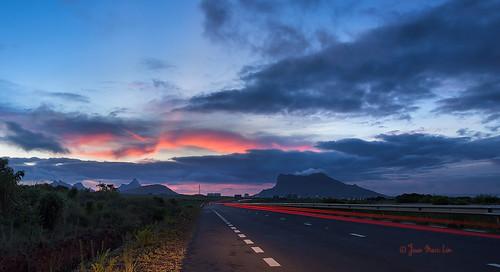 Highway Sunset