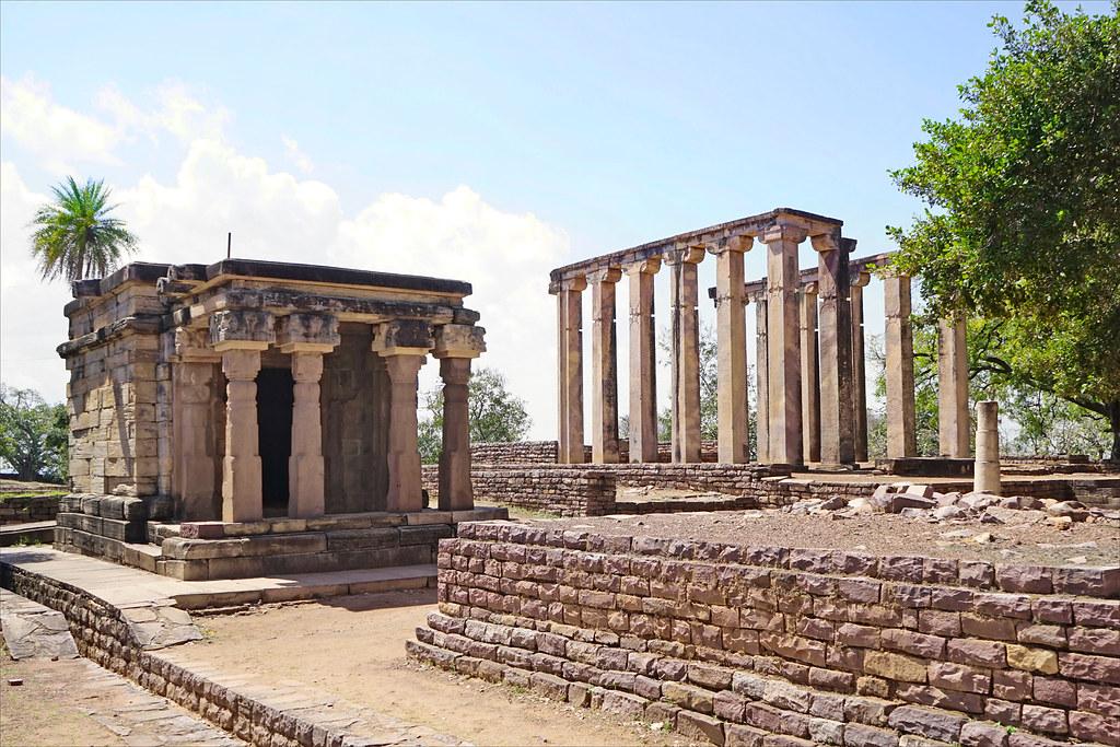 Gupta Temple Sanchi Temples Autour du Grand st pa de Sanchi Inde