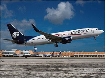 Aeromexico B737-800 Cancun (Ricardo Morales)