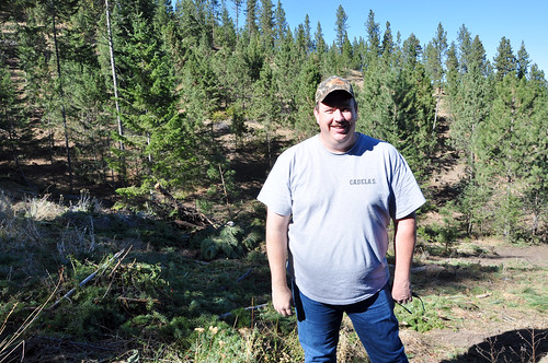 Tim Fisher, a landowner in Baker County, Oregon, recently completed forest stand improvements on 232 acres of his land in partnership with the Natural Resources Conservation Service.