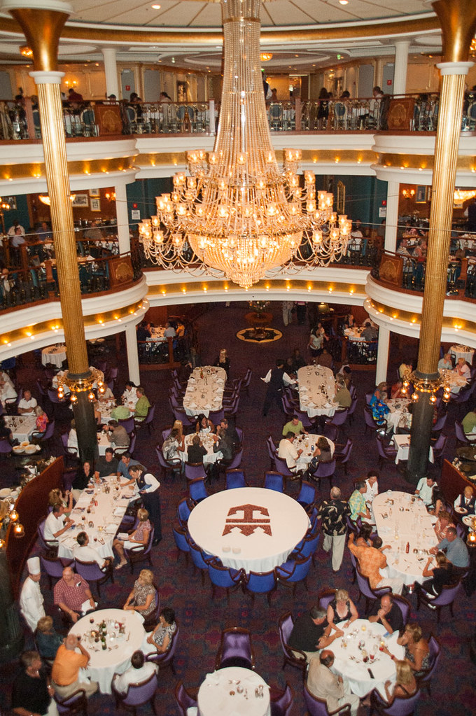 Main dining hall on Adventure of the Seas