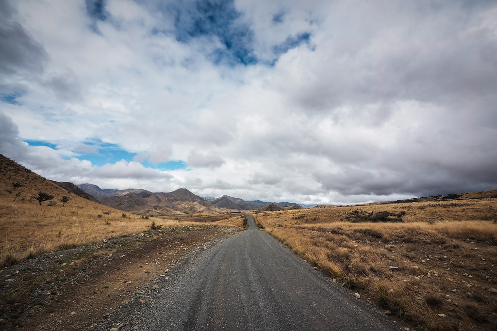 Expansive views on the Molesworth Muster Trail, New Zealand