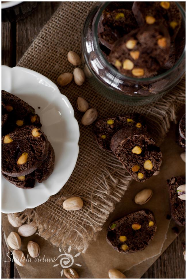 Šokoladiniai cantucci su pistacijomis (1)