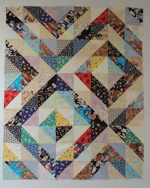 Old-Fashioned Scrap Quilt?