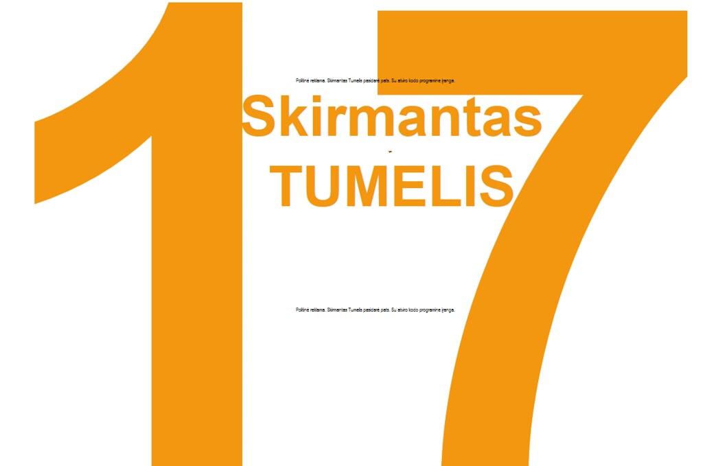 Lietuvos respublikos liberalų sąjūdis: 26 Skirmantas Tumelis: 17