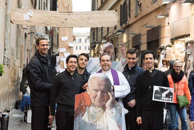 Selfie con el Papa