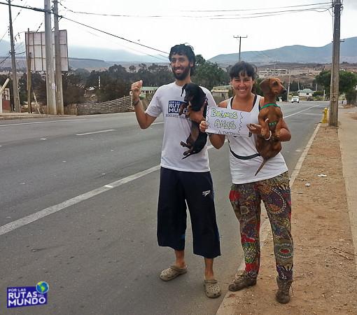 Viaje a dedo - de Chile a Argentina