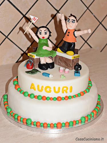 Torte - 65 - Torta Maestri in Attesa