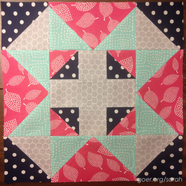 March Bee Blocks Sarah Goer Quilts