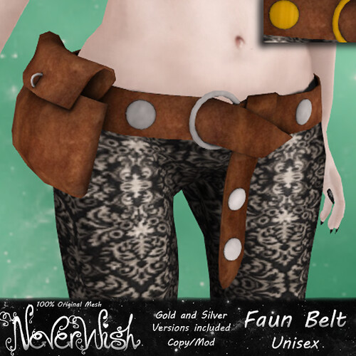 *NW* Faun Belt - Brown