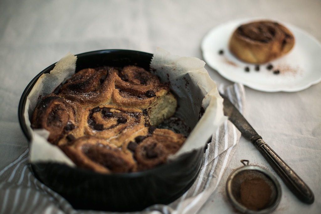 Scandinavian Chocolate Cinnamon Buns
