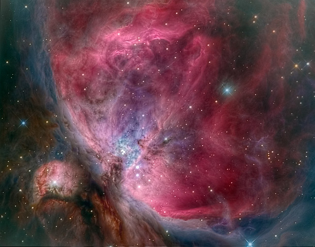 The heart of the Orion Nebula - M42