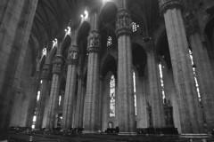 Milan - Duomo columns