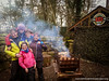 Family at Bear Grylls Survival Academy, Dragon Raiders, Cricceith, North Wales