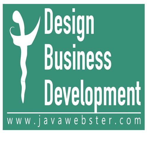 javawebster design business development logo profile square white