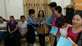 Daily Activities - Dr. Thanh-Tam (OBV Chair) in Nghe An