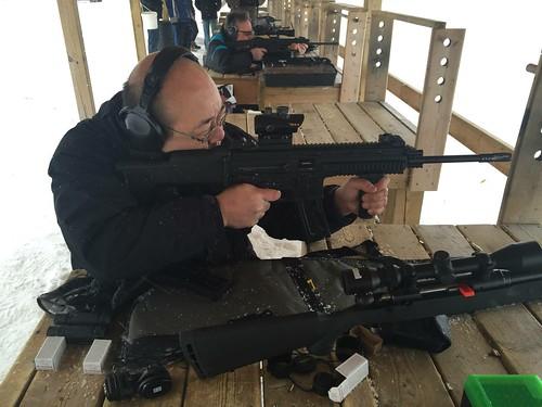 Shooting my ISSC MK22