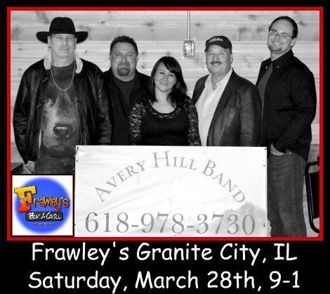Avery Hill Band 3-28-15
